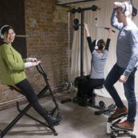 Musik erhöht die Schmerzschwelle beim Sport