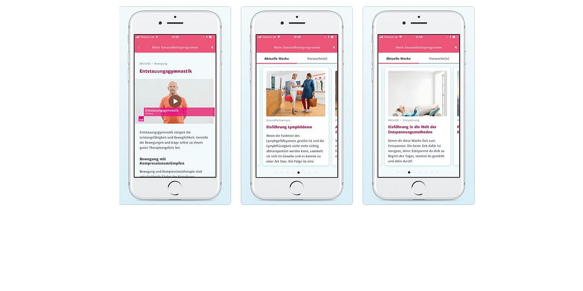 Gesundheits-App für Lip- und Lymphödem-Patienten
