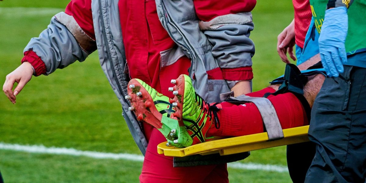 Das sind die häufigsten Fußballverletzungen