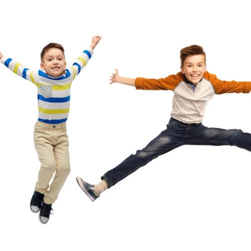 Hohe Schrittzahl schützt schon Kinder vor Übergewicht