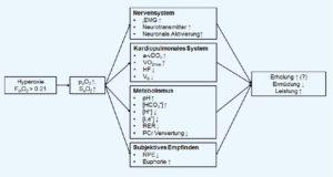 Auswirkungen von Training mit erhöhter Sauerstoffkonzentration (Hyperoxie)