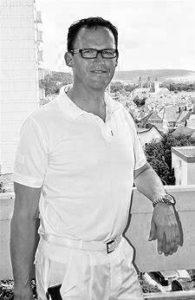 Dr. Volker Dotzel, ehemals betreuender Arzt des Bundesstützpunkts Würzburg der Freiwasserschwimmer und niedergelassener Orthopäde