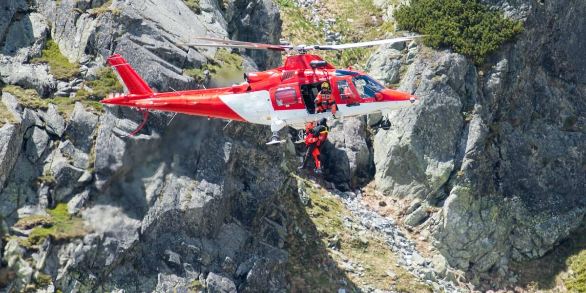 Die Hälfte der Notfälle beim Bergwandern sind Stürze bei 50-70-Jährigen