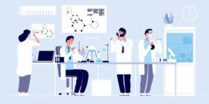 Illustration Gesundheitsforschung