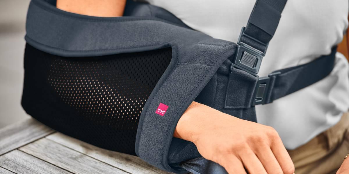 medi SAS comfort jetzt mit größerem Oberarm-Ausschnitt