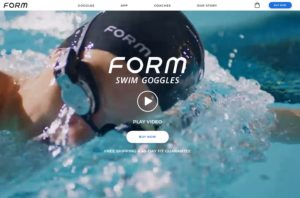 Form Schwimmbrille