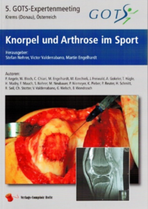 Buchcover Knorpel und Arthrose im Sport