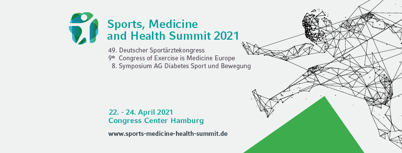 Sports, Medicine and Health Summit in Hamburg findet jetzt im April 2021 statt