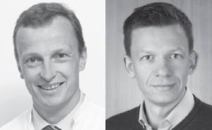 Prof. Dr. med. Johannes Scherr (li.), Dr. med. Malte C. Claussen (re.)