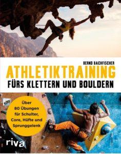 Buchcover Athletiktraining fürd Klettern und Bouldern