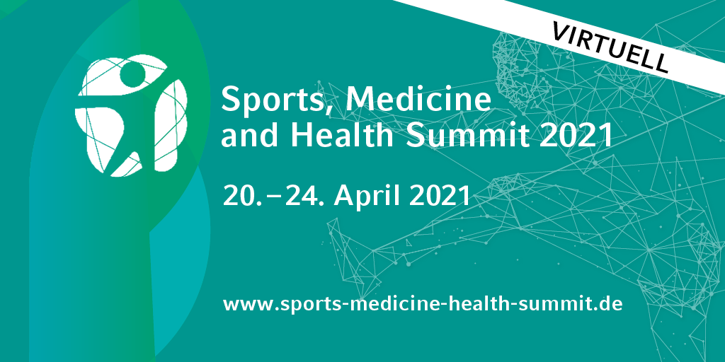 Der Sports, Medicine and Health Summit 2021 jetzt rein virtuell