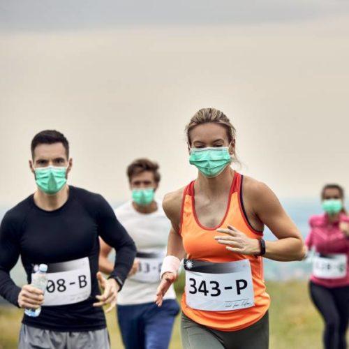 Corona: Physiologische Effekte von Sport mit Atemmaske