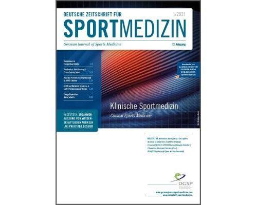 Erscheinungstermine der Deutschen Zeitschrift für Sportmedizin (DZSM) in 2021