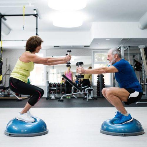 Warum ein Krafttraining in metastabilen Gleichgewichtslagen für ältere Menschen nützlich sein könnte