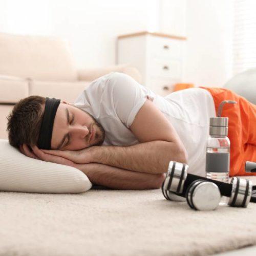 Schlafmangel beeinträchtigt sportliche Leistungsfähigkeit