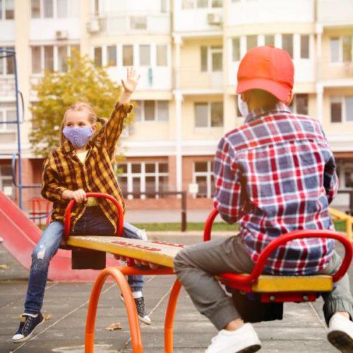 Kinder im Lockdown: Weniger Sport, aber mehr Bewegung