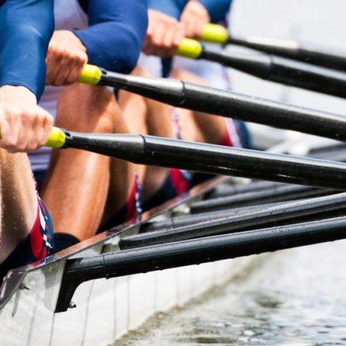 Olympisches Rudern –  das Maximum über 2000 Meter