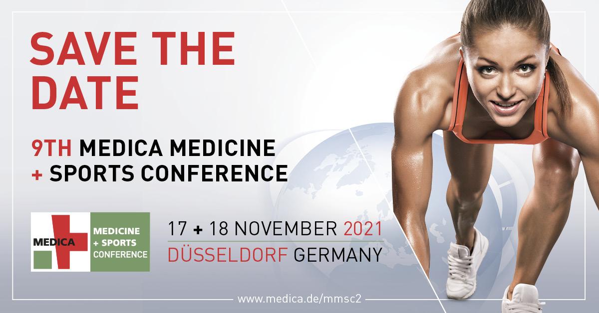 Hybridveranstaltung: 9. MEDICA MEDICINE + SPORTS CONFERENCE – live und online